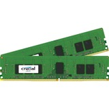 Crucial 16GB Kit (4GBx4) DDR4 PC4-17000 Registered ECC 1.2V