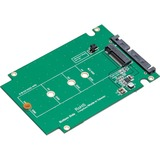 """SYBA 2.5"""" SATA III to M.2 (NGFF) SSD Enclosure with Complete Screw Set"""