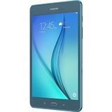 "Samsung Galaxy Tab A SM-T350 16 GB Tablet - 8"" - Plane to Line (PLS) Switching - Wireless LAN - Qualcomm Snapdragon 410 APQ8016 Quad-core (4 Core) 1.20 GHz - Smoky Blue"