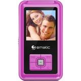 Open Box: Ematic EM208VID 8 GB Pink Flash Portable Media Player