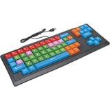 Califone Kids Large Key Wired Keyboard Via Ergoguys