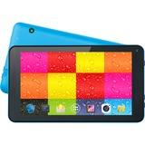 "Supersonic SC-4207Blue Tablet - 7"" - 512 MB - Allwinner Cortex A7 Quad-core (4 Core) 1.20 GHz - 4 GB - Android 4.4 KitKat - 800 x 480 - Blue"