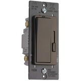 Pass & Seymour Harmony Incandescent Single Pole/3-Way Dimmer Switch, Dark Bronze