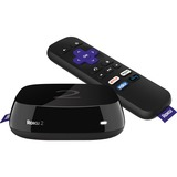 Roku 2 Network Audio/Video Player - Wireless LAN - Black