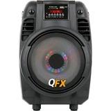 QFX PBX-710700BTL Speaker System - 300 W RMS - Portable - Battery Rechargeable - Wireless Speaker(s)
