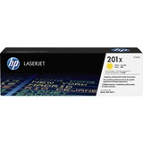 HP 201X | CF402X | Toner Cartridge | Yellow | Works with HP Color LaserJet Pro M252dw, M277 series| High Yield