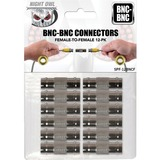 Night Owl Security BNC-BNC Cable Connectors, 12-Pack