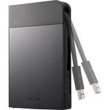 BUFFALO MiniStation Extreme NFC USB 3.0 2 TB Rugged Portable Hard Drive (HD-PZN2.0U3B)