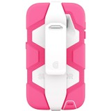 Griffin Survivor All-Terrain Carrying Case for Smartphone - White, Pink