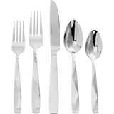 Anchor 20 Pc. Flatware Set Droplets (Mirror/Beadblast)
