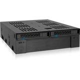 Icy Dock ExpressCage MB322SP-B Drive Enclosure Internal - Black