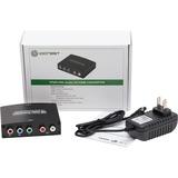 IO Crest Component (YPbPr) + RCA Audio to HDMI 1.3 1080p HDTV Converter