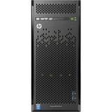 HP ProLiant ML110 G9 4.5U Tower Server - 1 x Intel Xeon E5-1603 v3 Quad-core (4 Core) 2.80 GHz - 4 GB Installed DDR4 SDRAM - 1 TB (1 x 1 TB) HDD - Serial ATA/600 Controller - ...(more)