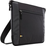"""Case Logic Intrata INT-114 Carrying Case (Attaché) for 14.1"""" Notebook, Accessories, Cable, Cellular Phone, Pen - Black"""