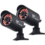 Night Owl Wired 650TVL Indoor/Outdoor Security Bullet Cameras with 50 ft. Night Vision (2-Pack)-CAM-2PK-650