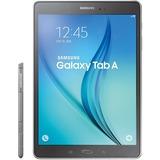 """Samsung Galaxy Tab A SM-P550 16 GB Tablet - 9.7"""" - Plane to Line (PLS) Switching - Wireless LAN - Qualcomm APQ8016 Quad-core (4 Core) 1.20 GHz - Smoky Titanium"""