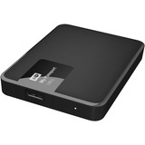 WD My Passport Ultra 2TB USB 3.0 Secure portable drive with auto backup Classic Black