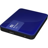 WD My Passport Ultra 2TB USB 3.0 Secure portable drive with auto backup Nobile Blue