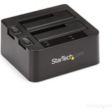 """StarTech.com USB 3.1 (10Gbps) Dual-Bay Dock for 2.5""""/3.5"""" SATA SSD/HDDs with UASP"""