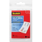 Scotch Business Card Laminating Pouches
