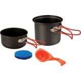 Stansport 1-Person Hard Anodized Aluminum Cook Set