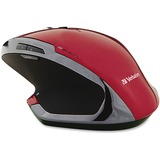 Verbatim Wireless Desktop 8-Button Deluxe Blue LED Mouse - Red