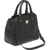 Bulldog Satchel Carrying Case (Purse) for Revolver - Black