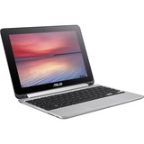 "Asus Chromebook Flip C100PA-DB02 10.1"" Touchscreen LCD 2 in 1 Netbook - Rockchip Cortex A17 RK3288 Quad-core (4 Core) 1.80 GHz - 4 GB LPDDR3 - Chrome OS - 1280 x 800 - In-plan ...(more)"
