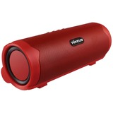 Nixeus 2.0 Speaker System - 5.4 W RMS - Portable - Battery Rechargeable - Wireless Speaker(s) - Red