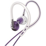 iHome Sport Ear Buds with Detachable Ear Hooks and In-Line Volume Control