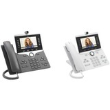 Cisco 8865 IP Phone - Wired/Wireless - Wall Mountable - Charcoal