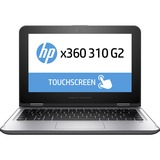 "HP x360 310 G2 11.6"" Touchscreen (In-plane Switching (IPS) Technology) 2 in 1 Netbook - Intel Pentium N3700 Quad-core (4 Core) 1.60 GHz - Convertible - Gray, Silver"