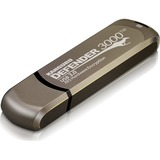 Kanguru Defender3000 FIPS 140-2 Level 3, SuperSpeed USB 3.0 Secure Flash Drive, 32G