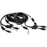Vertiv Avocent USB Keyboard and Mouse, HDMI and Audio Cable, 10 ft. for Vertiv Avocent SV and SC Series Switches