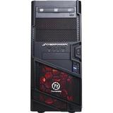 CyberPowerPC Gamer Ultra GUA520 Desktop Computer - AMD FX-Series FX-4300 3.80 GHz - 8 GB DDR3 SDRAM - 1 TB HDD - Windows 10 Home 64-bit - Black, Red