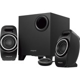 Creative T3250 2.1 Speaker System - Desktop - Wireless Speaker(s) - Black