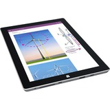 "Microsoft Surface 3 Tablet - 10.8"" - ClearType - Wireless LAN - Intel Atom x7 x7-Z8700 Quad-core (4 Core) 1.60 GHz - Silver"