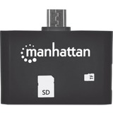 Manhattan Mobile OTG Adapter, 24-in-1 Card Reader/Writer