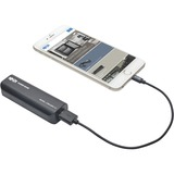 Tripp Lite Portable 1-Port USB Battery Charger Mobile Power Bank 2.6k mAh