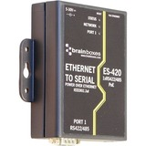 Brainboxes ES-420 PoE Ethernet to Serial Device Server