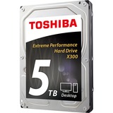"Toshiba X300 HDWE150XZSTA 5 TB 3.5"" Internal Hard Drive"