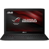 "ROG GL552VW-DH71 15.6"" (In-plane Switching (IPS) Technology) Notebook - Intel Core i7 (6th Gen) i7-6700HQ Quad-core (4 Core) 2.60 GHz - Metallic"