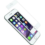 Cygnett AeroCurve Tempered Glass Aluminium Border iPhone 6 - White White, Clear