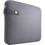 "Case Logic LAPS-114 Carrying Case (Sleeve) for 14.1"" Notebook - Gray, Graphite"