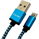 Professional Cable USB-MICROBL-06 Micro USB Braided Wire