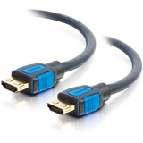 C2G 1.5ft 4K HDMI Cable with Ethernet and Gripping Connectors