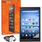 """Amazon Fire HD 10 B00VKM5YG2 16 GB Tablet - 10.1"""" 16:10 Multi-touch Screen - 1280 x 800 - In-plane Switching (IPS) Technology - MediaTek Quad-core (4 Core) 1.50 GHz - 1 GB - F ...(more)"""