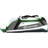 Easton E500W Carrying Case (Roller) for Baseball, Bat, Shoes - Torq Green