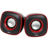 QFX 2.0 USB Powered Multimedia Speaker System, Black-CS256