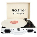 boytone Mobile Briefcase Turntable BT-101TBWT